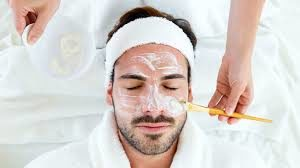 Swiss Wellness Day Spa Men Treatments and Packages - Man with Facial Treatment