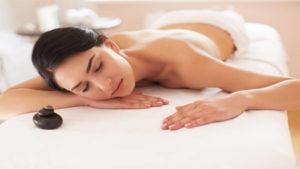 Swiss Wellness Day Spa Ultimate Indulgence Massage - Lady Model Sleeping